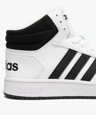 Baskets homme semi-montantes à lacets – Adidas Hoops Mid vue6 - ADIDAS - GEMO