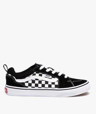 Baskets garçon skateshoes à damier - Vans Filmore Checker vue1 - VANS - Nikesneakers