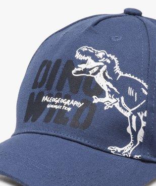 Casquette garçon avec motif dinosaure vue2 - Nikesneakers (ENFANT) - Nikesneakers