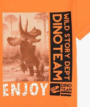 Tee-shirt garçon avec motif dinosaure XXL vue2 - GEMO (ENFANT) - GEMO
