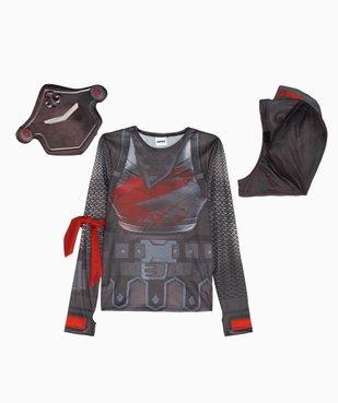 Déguisement enfant chevalier noir 4 pièces - Fortnite vue2 - FORTNITE - GEMO