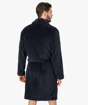 Robe de chambre peignoir pour homme vue3 - GEMO(HOMWR HOM) - GEMO
