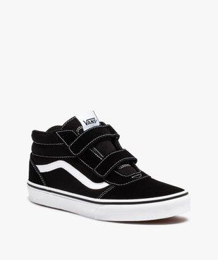 Baskets garçon skateshoes bicolores - Vans Ward Mid vue2 - VANS - Nikesneakers