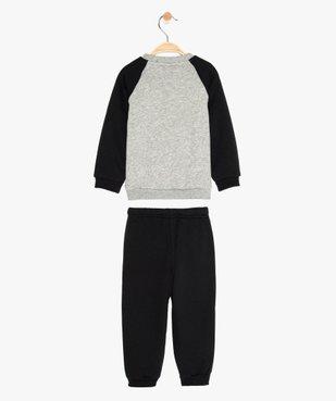 Jogging bébé en matière molletonnée - Adidas vue2 - ADIDAS - GEMO