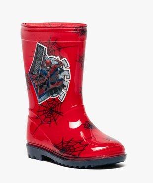 Bottes de pluie crantées Spiderman vue2 - SPIDERMAN - GEMO