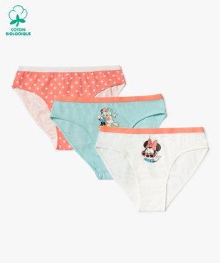 Culotte fille motif Minnie (lot de 3) - Disney vue1 - DISNEY DTR - GEMO