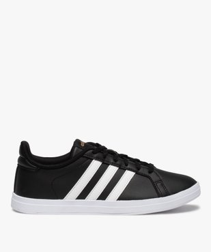 Tennis femme bicolores à lacets – Adidas Courtpoint vue3 - ADIDAS - Nikesneakers