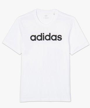 Tee-shirt homme avec inscription contrastante – Adidas vue4 - ADIDAS - GEMO