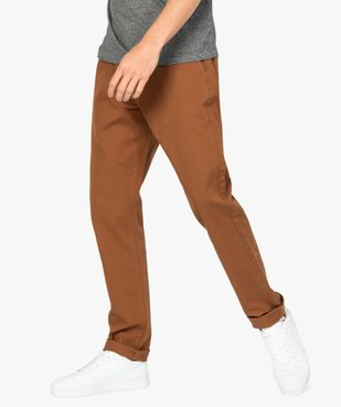 Pantalon homme chino stretch en maille piquée vue1 - Nikesneakers (HOMME) - Nikesneakers