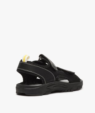 Sandales garçon multi-matières fermeture à scratch vue4 - Nikesneakers (ENFANT) - Nikesneakers