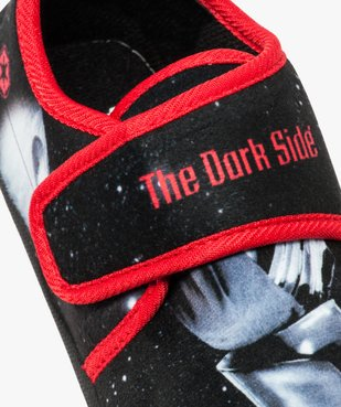 Chaussons garçon à bande scratch - Star Wars vue6 - STAR WARS - GEMO