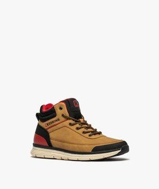 Boots garçon à col rembourré et lacets bicolores - Redskins vue2 - REDSKINS - GEMO