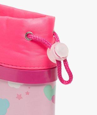 Bottes de pluie bébé fille imprimées à col étanche vue6 - GEMO(BEBE DEBT) - GEMO
