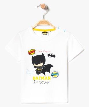 Tee-shirt à manches courtes avec motif - Batman vue1 - BATMAN - GEMO