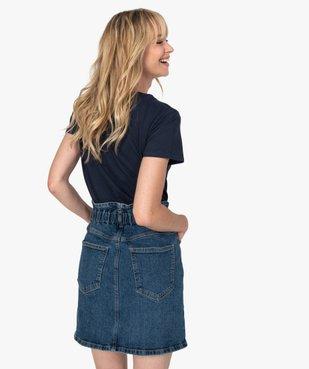 Tee-shirt femme à manches courtes imprimé football vue3 - Nikesneakers(FEMME PAP) - Nikesneakers