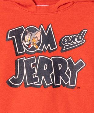 Sweat bébé garçon à capuche - Tom & Jerry vue4 - TOM ET JERRY - GEMO