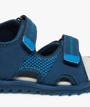 Sandales garçon à scratchs et semelle intérieure cuir vue6 - Nikesneakers (ENFANT) - Nikesneakers