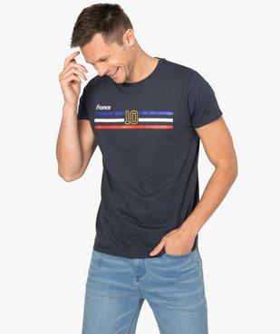 Tee-shirt homme à manches courtes imprimé football vue1 - GEMO C4G HOMME - GEMO