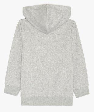 Sweat enfant à capuche et fermeture zippée - Adidas vue3 - ADIDAS - GEMO