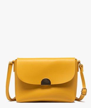 Sac besace femme uni design minimaliste vue1 - GEMO (ACCESS) - GEMO