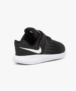 Baskets basses lacets et scratchs - Nike Star Runner vue4 - NIKE - GEMO