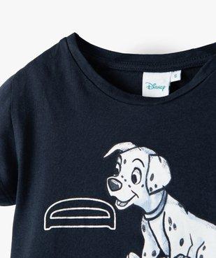 Tee-shirt fille à manches courtes imprimé Disney - Les 101 Dalmatiens vue2 - DISNEY DTR - GEMO