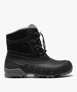 Après-skis homme style chaussures de montagne à lacets vue1 - GEMO (EQUIPT) - GEMO
