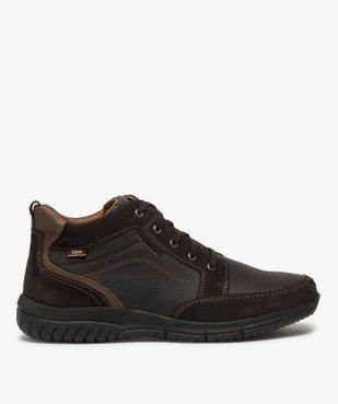 Low-boots homme confort avec nombreuses surpiqûres - Zen vue1 - GEMO (CONFORT) - GEMO