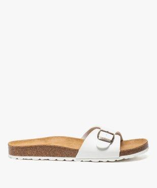 Sandales homme avec large bride à boucle vue1 - GEMO (CASUAL) - GEMO