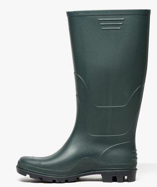 Bottes de pluie à semelle crantée vue3 - GEMO (EQUIPT) - GEMO