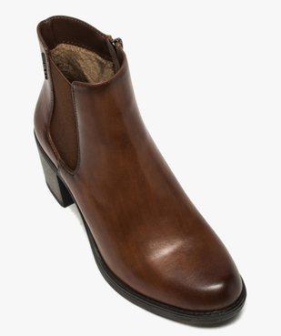 Boots femme unies à talon style chelsea – Tom Tailor vue5 - TOM TAILOR - GEMO