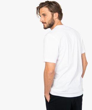 Tee-shirt homme avec inscription contrastante – Adidas vue3 - ADIDAS - GEMO