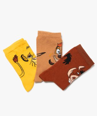 Chaussettes garçon avec motifs (lot de 3) - Disney vue2 - DISNEY DTR - GEMO