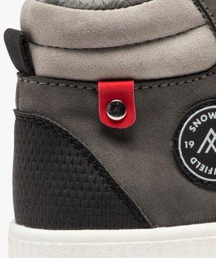 Boots garçon à semelle contrastante et col rembourré vue6 - Nikesneakers (ENFANT) - Nikesneakers