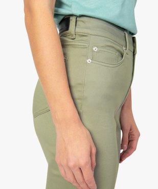 Pantalon femme Skinny taille haute super stretch vue2 - GEMO(FEMME PAP) - GEMO
