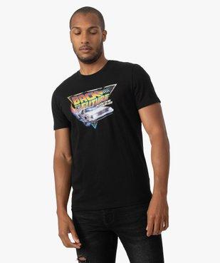 Tee-shirt homme avec motif Retour vers le futur vue1 - NBCUNIVERSAL - GEMO