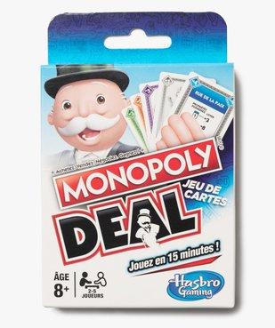 Jeu de cartes Monopoly Deal - Hasbro  vue1 - DIVERS LICENCE - GEMO