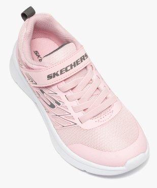 Baskets fille en mesh spécial running - Skechers Microspec vue5 - SKECHERS - GEMO