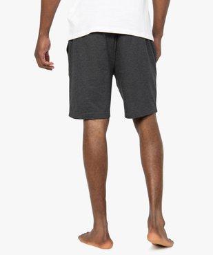 Short de pyjama homme en jersey à taille élastiquée vue3 - GEMO(HOMWR HOM) - GEMO