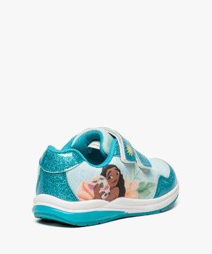 Baskets fille avec motif Vaiana et semelle lumineuse - Disney vue4 - VAIANA - GEMO