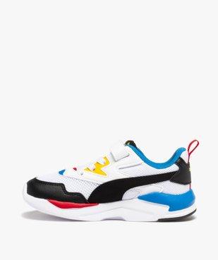 Baskets garçon multicolores – Puma XRay Lite  vue3 - PUMA - GEMO