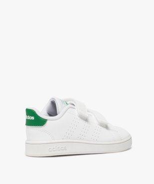 Baskets garçon unies à scratch – Adidas vue4 - ADIDAS - Nikesneakers