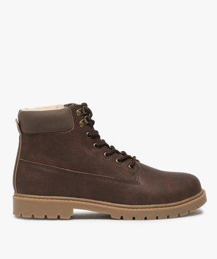 Boots homme à doublure chaude - Les Supaires vue1 - GEMO (CASUAL) - GEMO