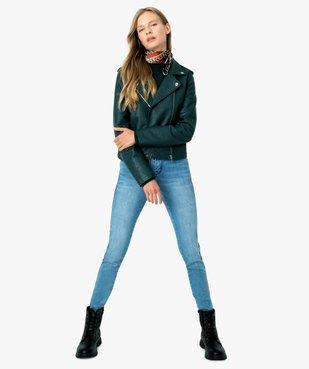 Blouson femme avec fermetures zippées vue5 - FOLLOW ME - Nikesneakers
