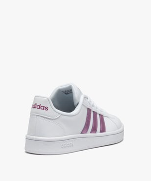 Baskets femme bicolores – Adidas Grand Court vue4 - ADIDAS - Nikesneakers