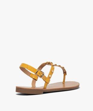 Sandales femme à entre-doigts avec clous décoratifs - Only Only vue4 - ONLY - GEMO