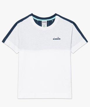 Tee-shirt femme à manches courtes en coton bio - Diadora vue4 - DIADORA - GEMO