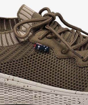 Baskets homme style chaussettes à lacets - Roadsign vue6 - ROADSIGN - GEMO