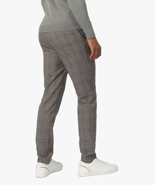Pantalon homme à motif Prince de Galles vue3 - Nikesneakers (HOMME) - Nikesneakers