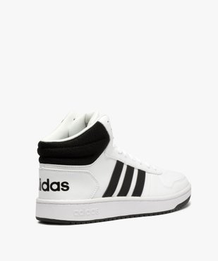 Baskets homme semi-montantes à lacets – Adidas Hoops Mid vue4 - ADIDAS - GEMO